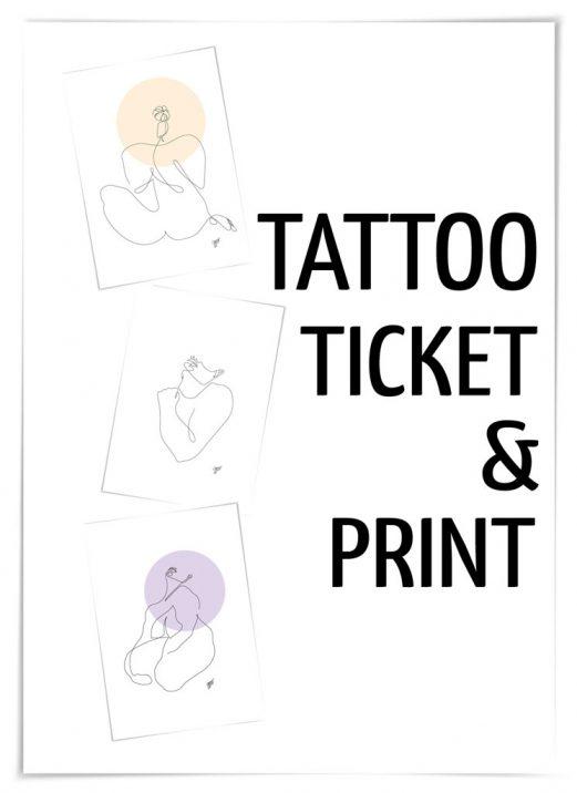 NEU | Tattooticket & Print im SHOP erwerben