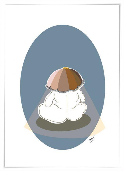 enlight me _ illustration