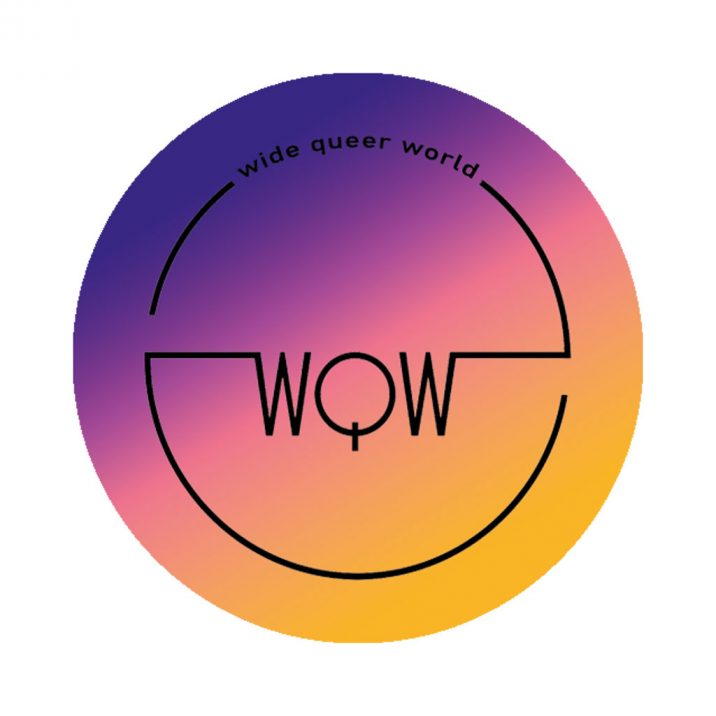 Logo Wide Queer World | 2018